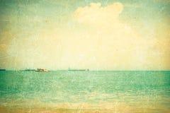 Textured sea vector illustration