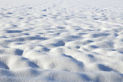 Textured snow background Stock Images