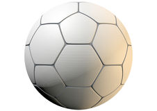 Textured Soccer Ball Closeup Stock Image