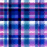 Textured soft tartan plaid. Seamless pattern checkered print Stock Images