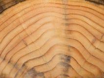 Textured sosnowego drewna powierzchni tło Obrazy Royalty Free