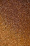 Textured stara metal powierzchnia z korodowaniem, rdzą i narysami, obrazy stock