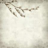 Textured stary papierowy tło Obraz Stock