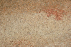 Textured stone with oxided colors Royalty Free Stock Photos