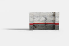 Textured stone wall Stock Images