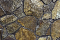 Textured Stone Wall Stock Photography