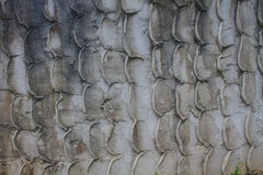 Textured stone wall Stock Photo