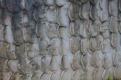 Textured stone wall Stock Photo