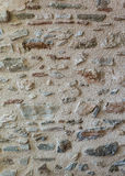 Textured stone wall pattern background Royalty Free Stock Images