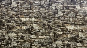 Textured stone wall. royalty free stock images