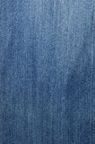Textured striped blue jeans linen fabric Stock Image