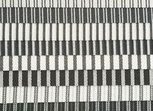 Textured Striped Cotton Fabric Swatch Royalty Free Stock Image