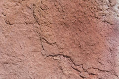 Textured surface of colorful rock Stock Images