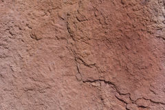 Textured surface of colorful rock Royalty Free Stock Photography