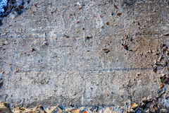 Textured surface of the concrete Royalty Free Stock Image