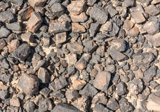 Textured surface of desert rocks Stock Photo