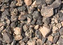 Textured surface of desert rocks Stock Image
