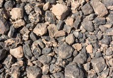 Textured surface of desert rocks Royalty Free Stock Photography