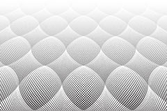 Textured surface. Perspective view. 3D effect. Stock Photos