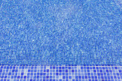 Textured surface of the pool water. Stock Image