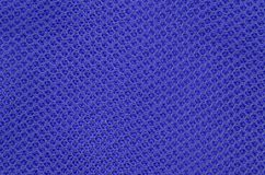 Textured synthetical background. Close up of blue textured synthetical background Royalty Free Stock Photography