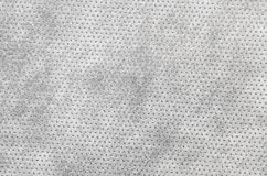 Textured synthetical background. Close up of gray textured synthetical background Royalty Free Stock Photo
