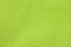 Textured synthetical background. Close up of green textured synthetical background Stock Photography