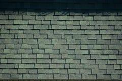 Textured szarość dachu gonty zdjęcie stock