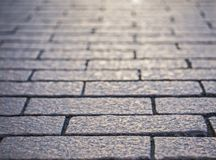 Textured tło bruku kamień Fotografia Stock