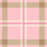 Textured tartan plaid pattern Stock Image