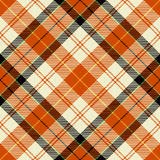 Textured tartan plaid Royalty Free Stock Photo