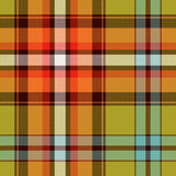 Textured tartan plaid Stock Photo