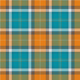 Textured tartan plaid Royalty Free Stock Photo