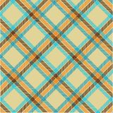 Textured tartan plaid, vector pattern Royalty Free Stock Photo