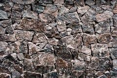 Textured tekstura stara kamienna ?ciana Tapeta dla t?a i projekta fotografia stock