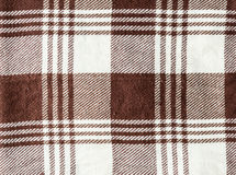Textured textil brown white striped Royalty Free Stock Images