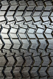 Textured tire tread Royalty Free Stock Photo