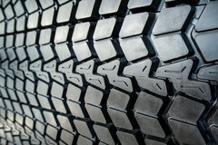 Textured tire tread Stock Image
