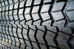 Textured tire tread Stock Image