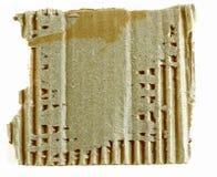 Textured torn carton Royalty Free Stock Photography