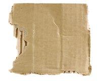 Textured torn carton royalty free stock photo