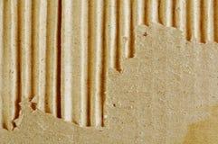 Textured torn carton Stock Image