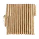 Textured torn carton Stock Photo