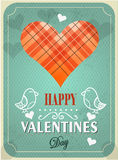 Textured Valentines Day background Stock Photography
