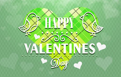 Textured Valentines Day background Royalty Free Stock Photos