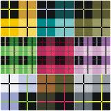 Textured vector plaid Stock Photos