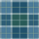 Textured Vector Scottish Tartan fabric Royalty Free Stock Photos