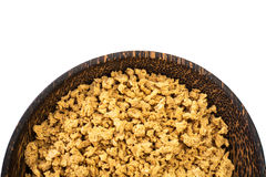 Textured vegetable protein, soy meat for a vegetarian diet Stock Photo