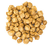 Textured vegetable protein, soy meat for a vegetarian diet Royalty Free Stock Photo