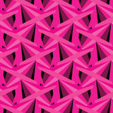 Textured vintage pink vector triangles background Royalty Free Stock Photos